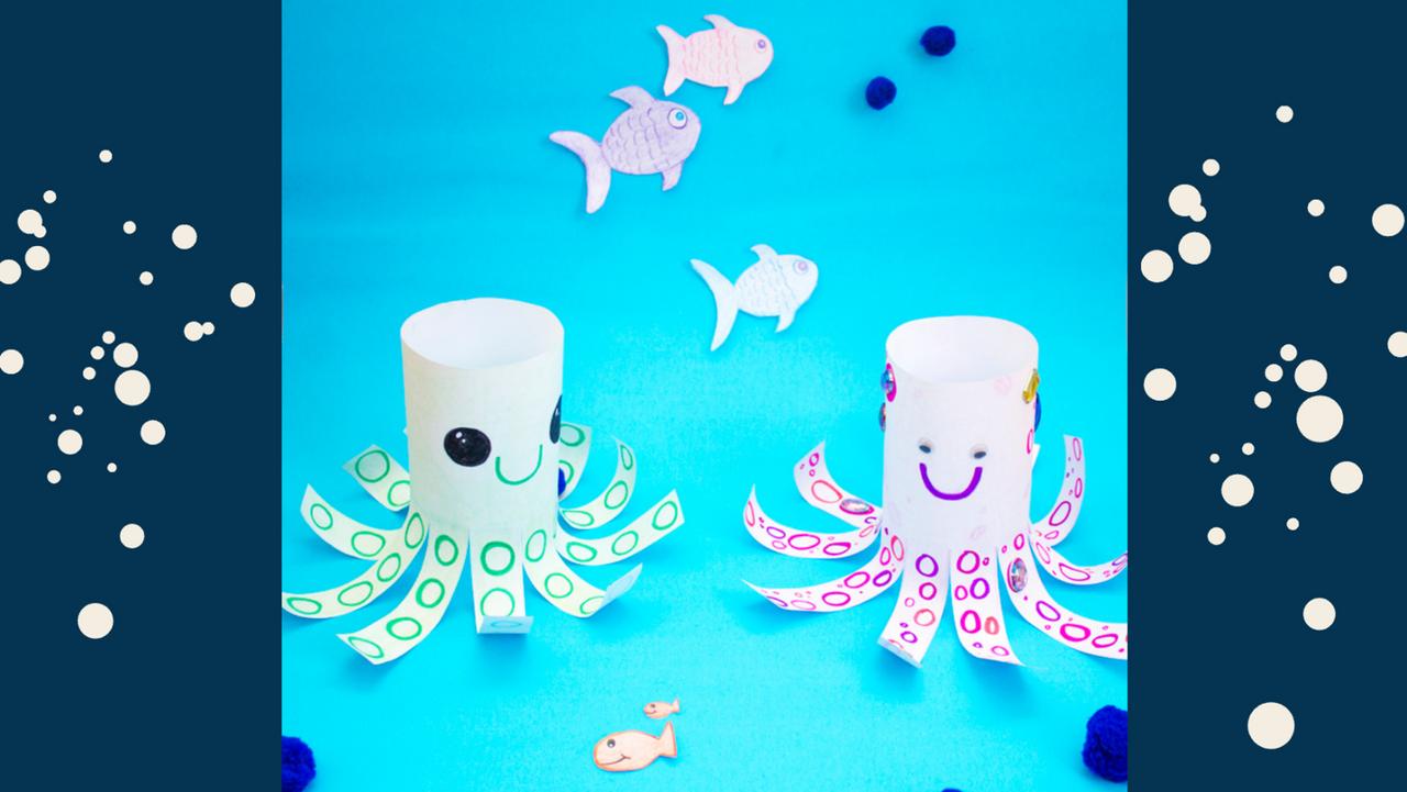 DIY Paper Octopus