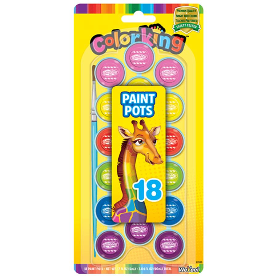 ColorKing Paint Pots