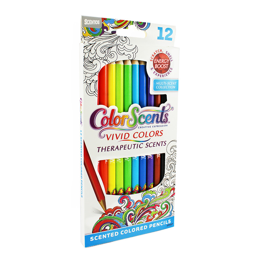 Colored Pencils - 12 count | Color Scents