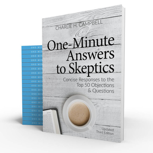 One Minute Answers to Skeptics: Concise Responses to the Top 50 Objections & Questions: 20 pack for churches only
