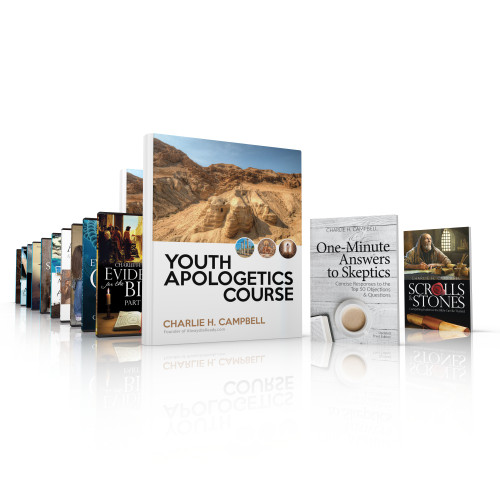 Youth Apologetics Course (Complete Set—2 Books + USB Flash Drive with 10 videos, Student Workbook, and Teacher's Edition)