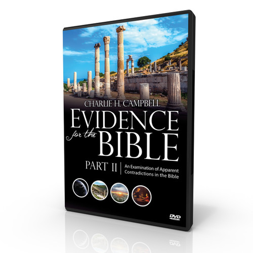 Evidence for the Bible (Part 2): An Examination of Apparent Contradictions in the Bible (Digital download mp4 video)
