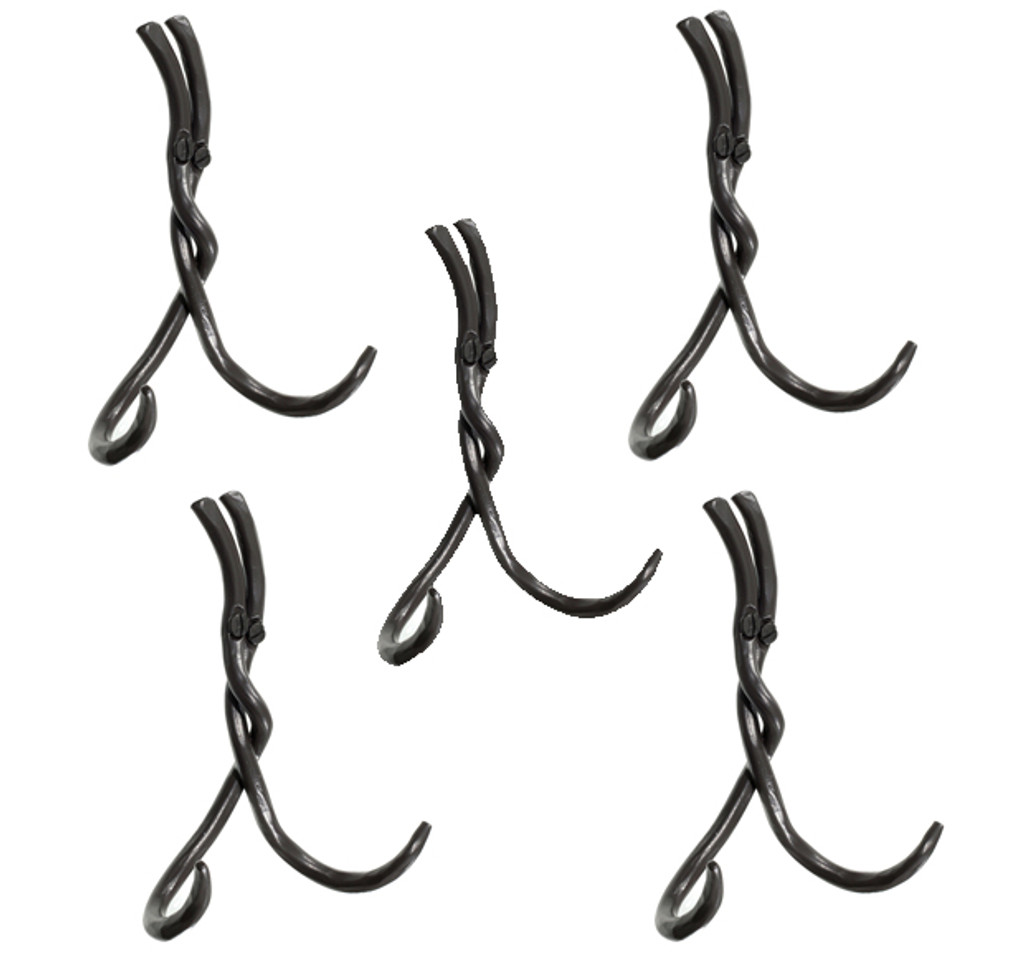 Rush Double Hook- 5 Piece Set
