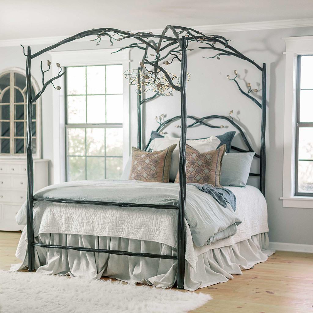 - Forest Canopy Bed Free Standing Canopy Bed Frame