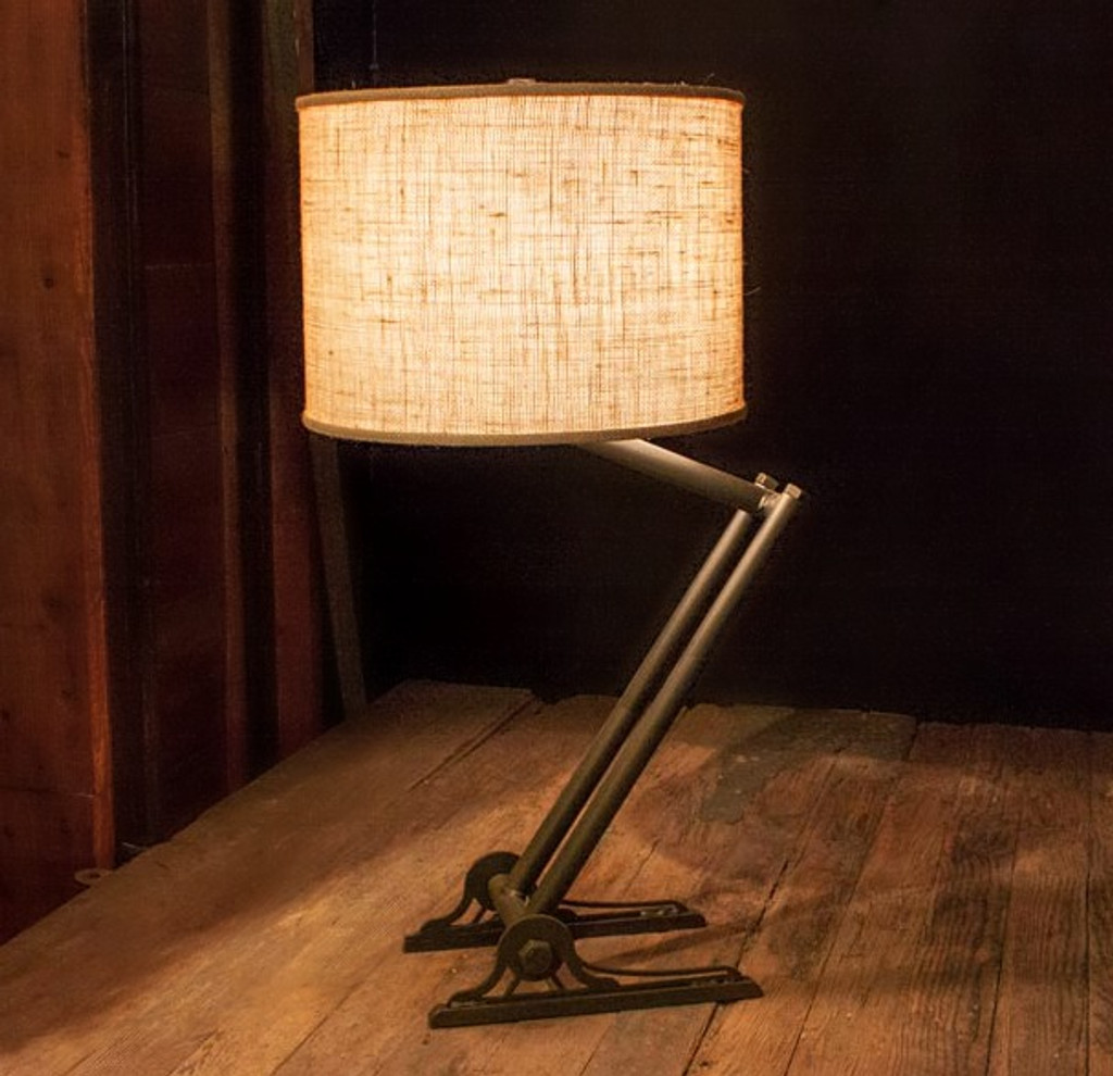 Trestle Iron Lamp