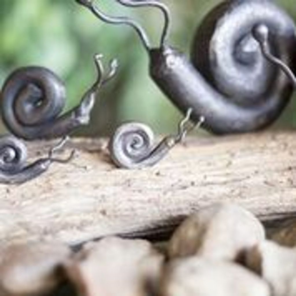 Hand Forged Snail