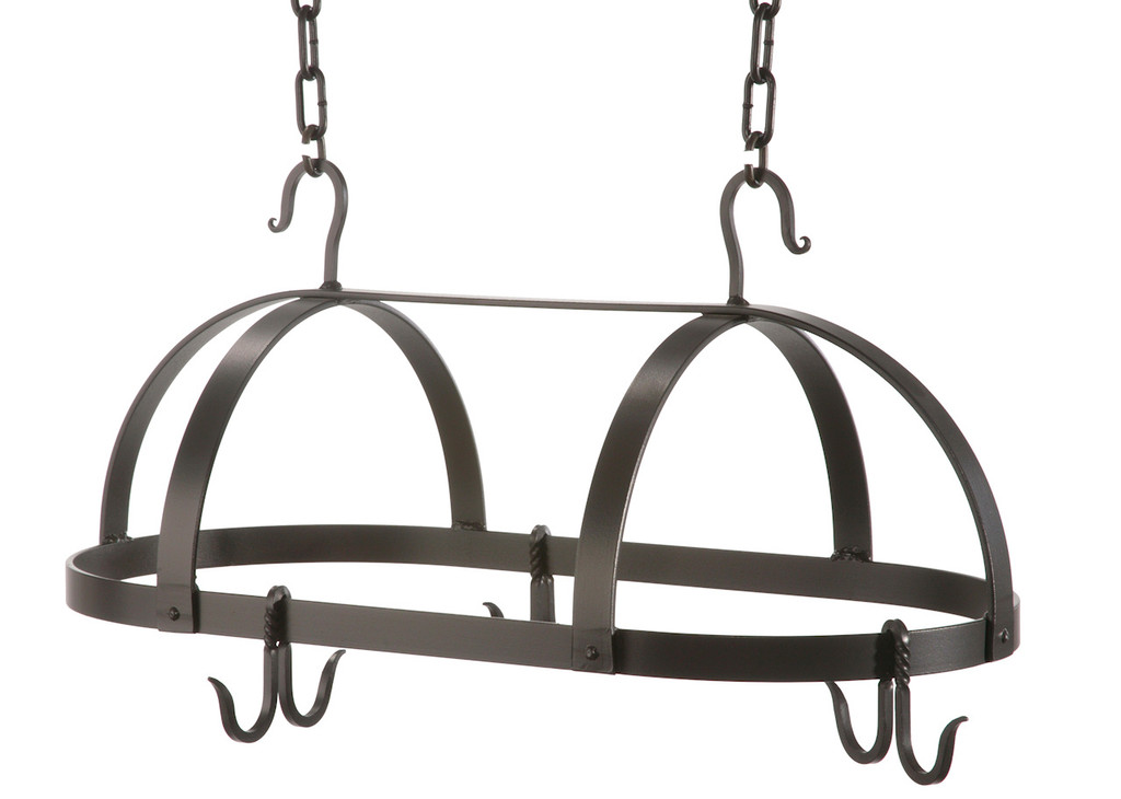 Dutch Oval Iron Pot Rack Small