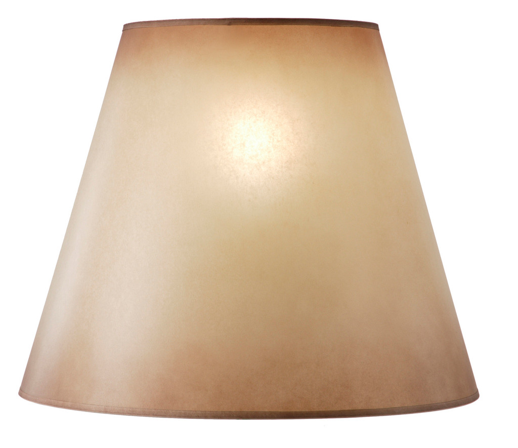 Amber Glow Lampshade (10 x 18 x 15)