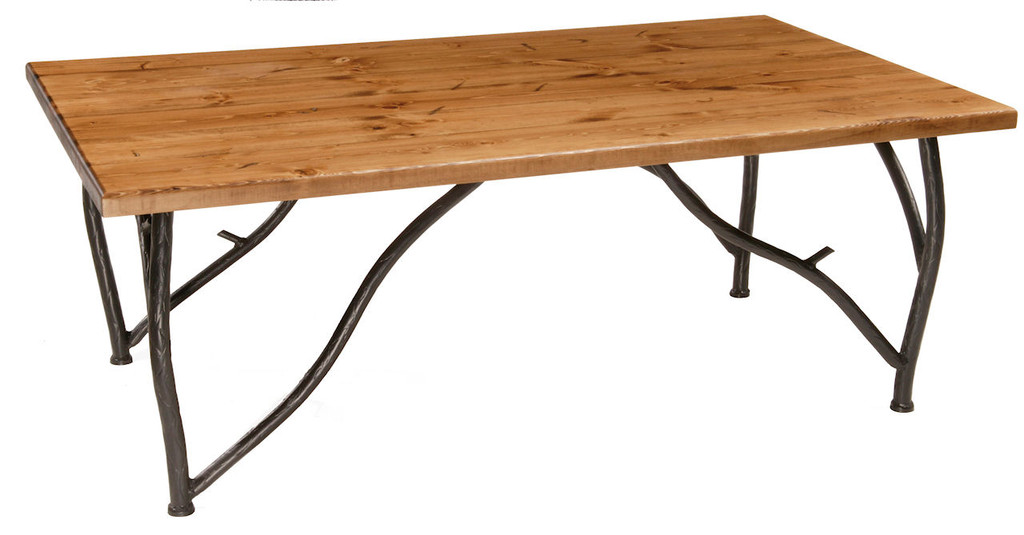 Base Only Woodland Iron Coffee Cocktail Table