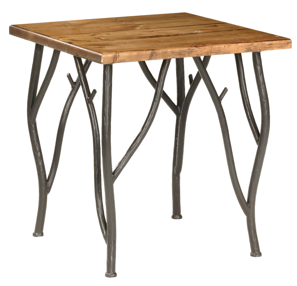 Base Only Woodland Iron Side Table
