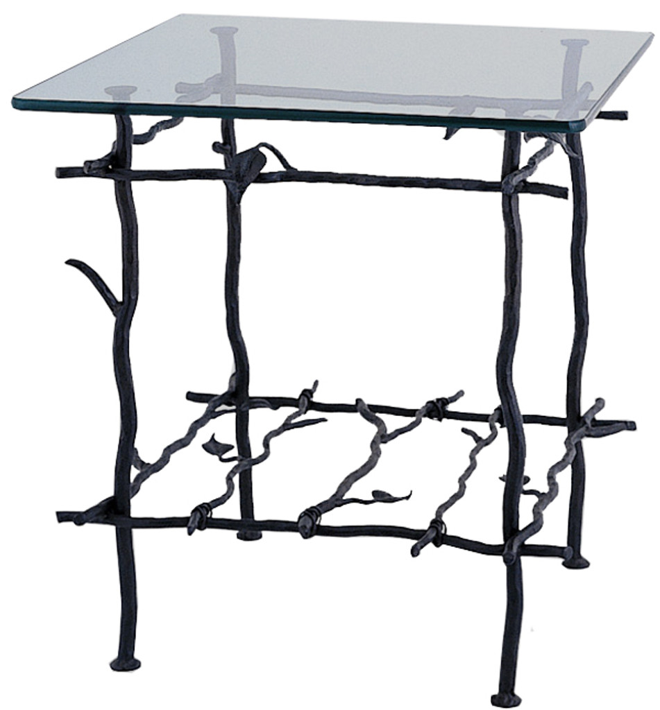 Base Only Sassafras Accent Table