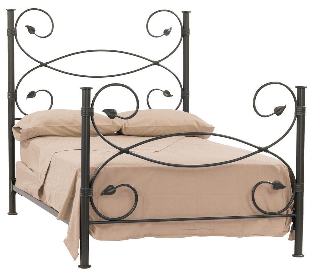 Leaf Iron Twin Bed