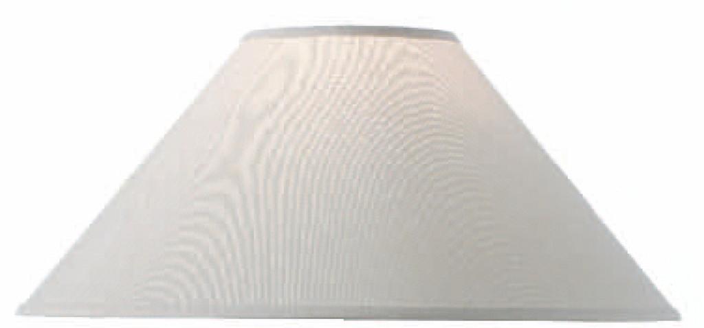 Natural Linen Floor Lamp Shade 22 in