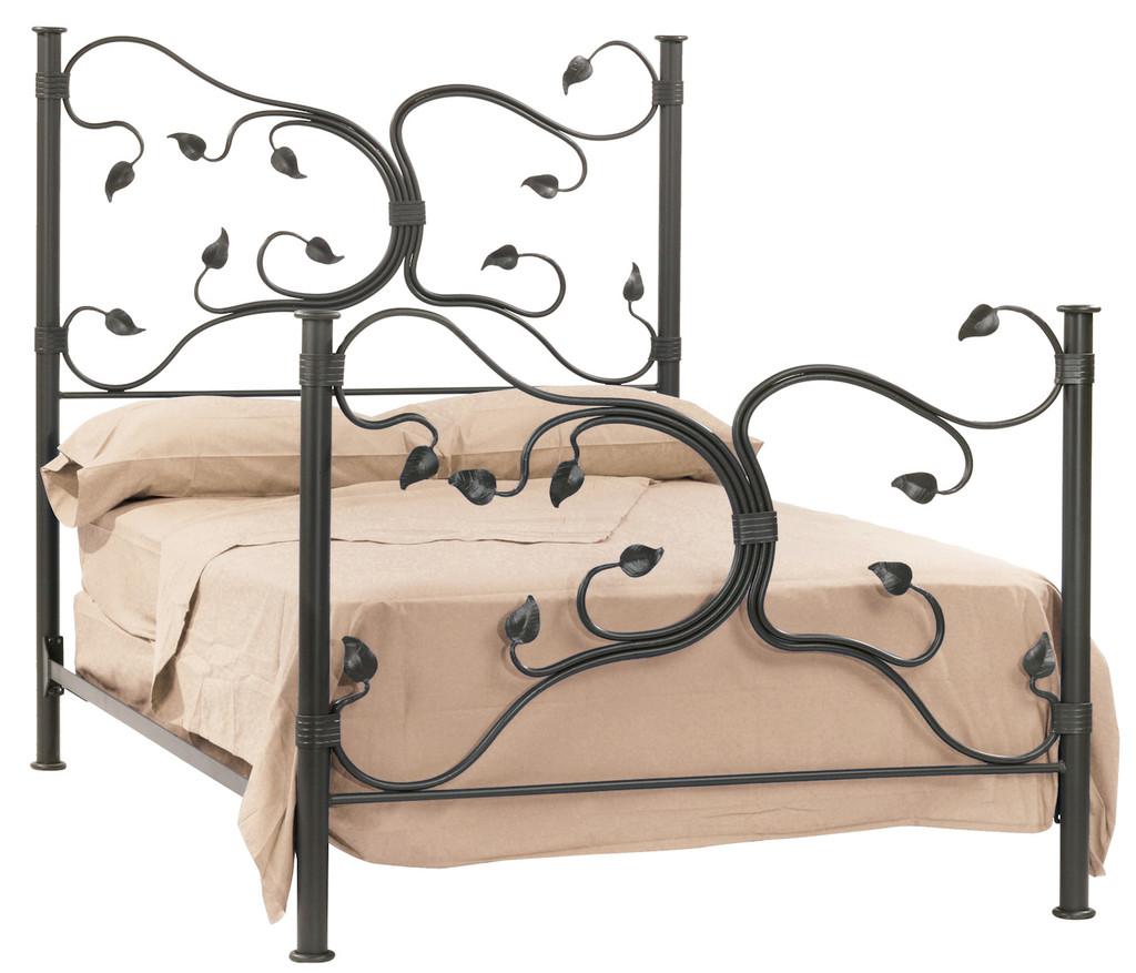 Eden Isle Iron King Bed