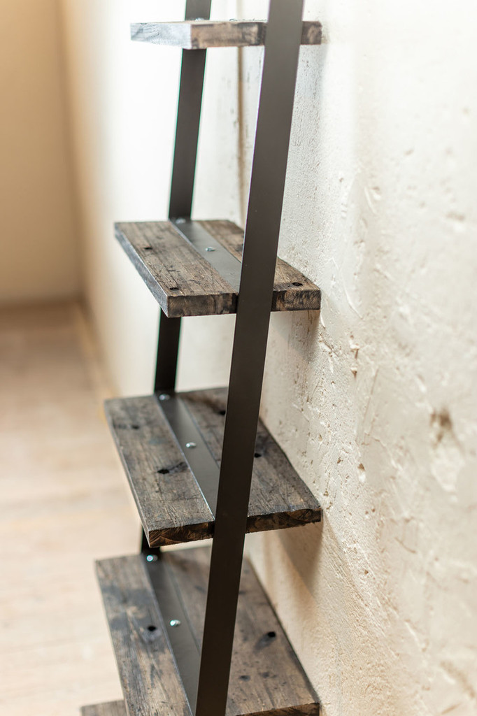 "24"" Urban Forge Ladder Wall Shelf"