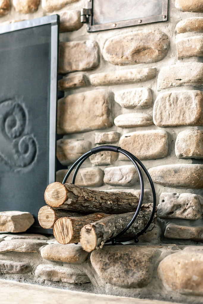 Sylamore Hand Forged Log Holder - Small