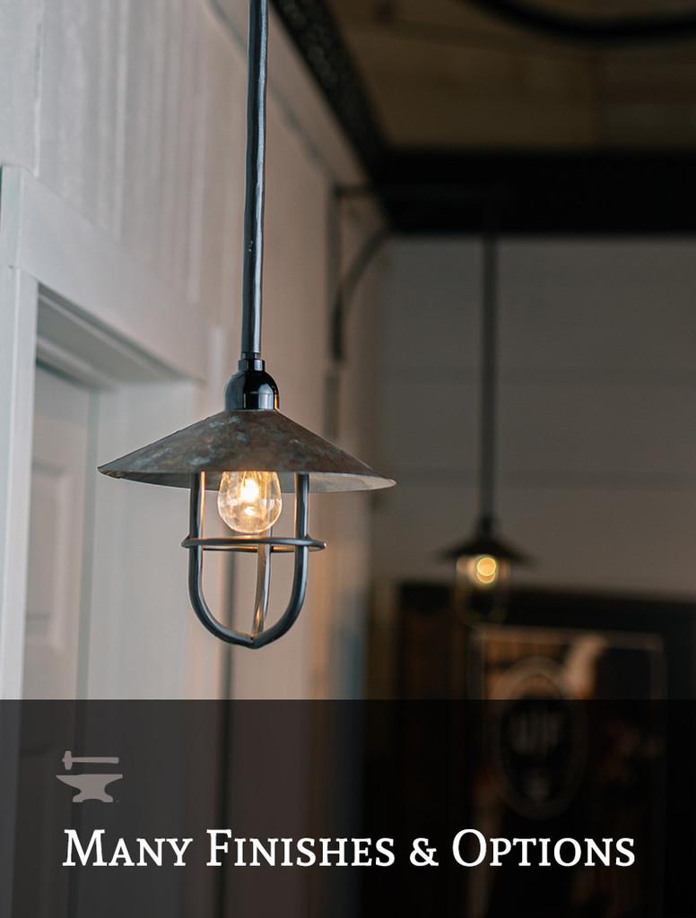Caddo River Caged Pendant Lamp
