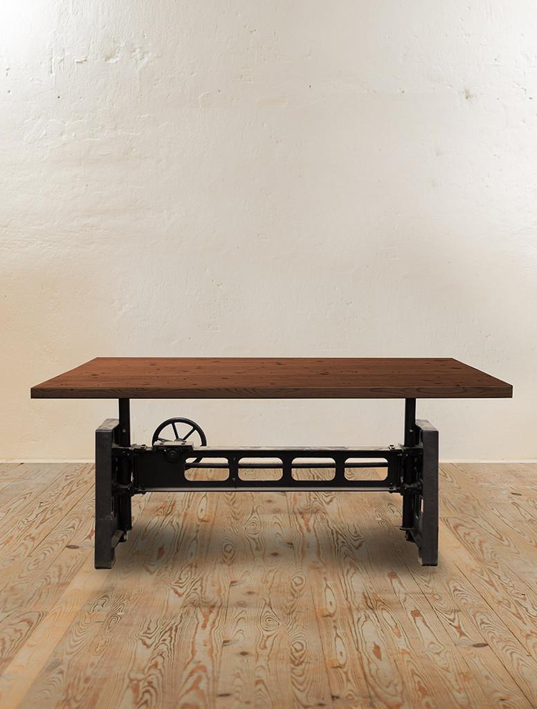Heavy Mechanic Adjustable Dining Table
