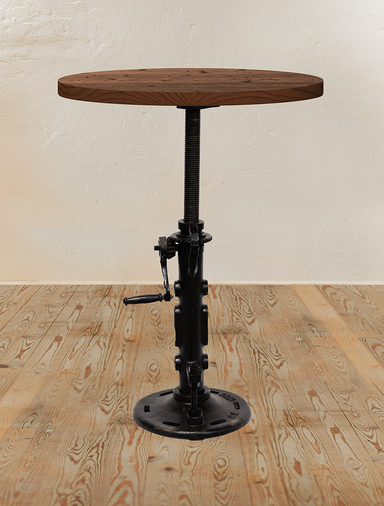 Jack Crank Adjustable Pub Table