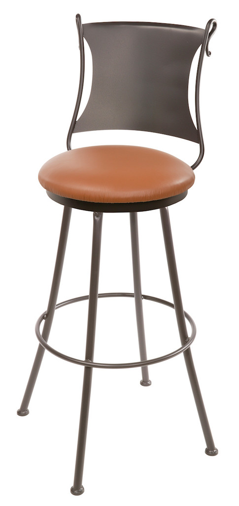 25 Inch Hand Forged Iron Standard Bar Stool