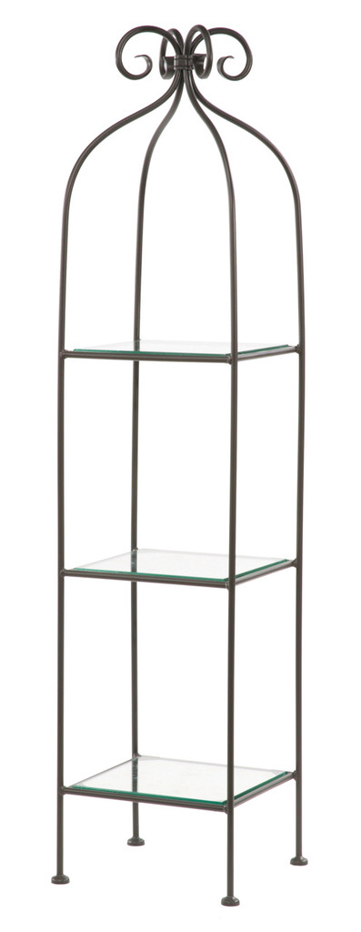 Scroll Standing Shelf Single Width 3 Tier