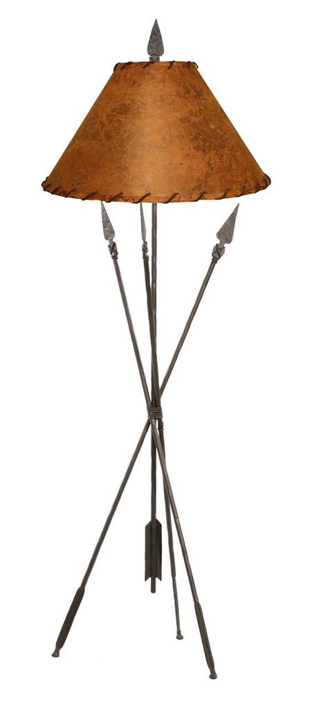 Quapaw Iron Floor Lamp
