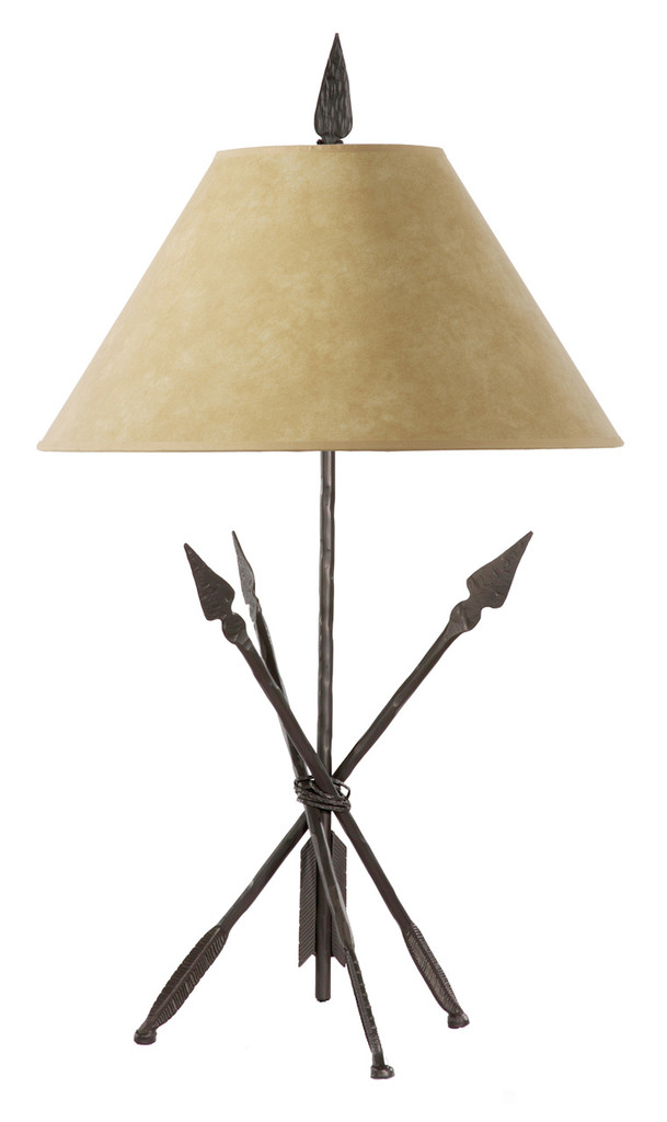 Quapaw Iron Table Lamp