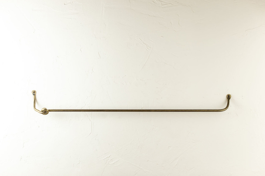 Knot Iron Towel Bar 16 Inch