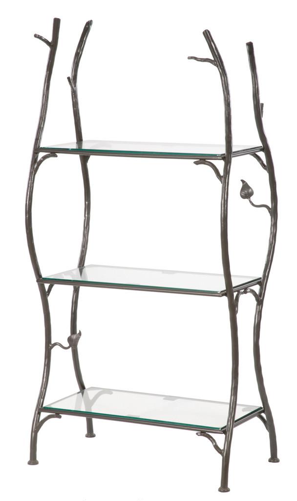 Sassafras Standing Shelf Double Width 3 Tier