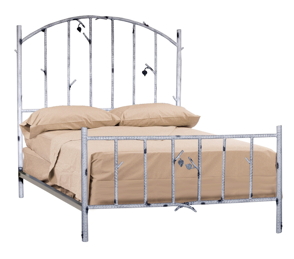 Wrought Iron Bed Frame Full Rustic Bed For Sale