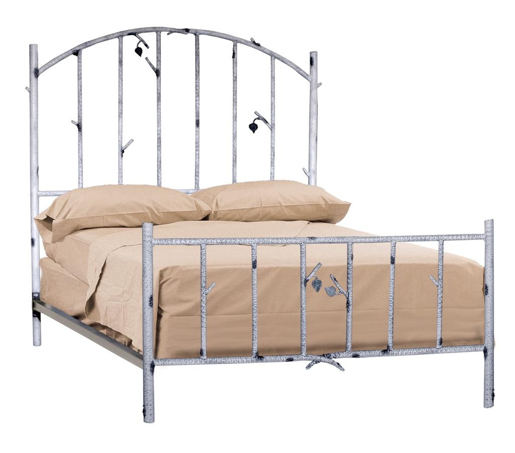 Whisper Creek King Iron Bed