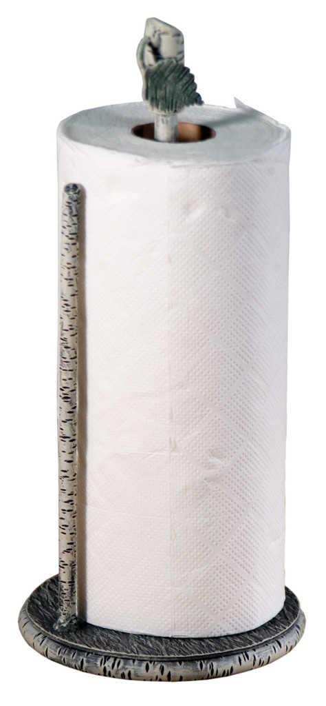 Whisper Creek Iron Paper Towel Holder