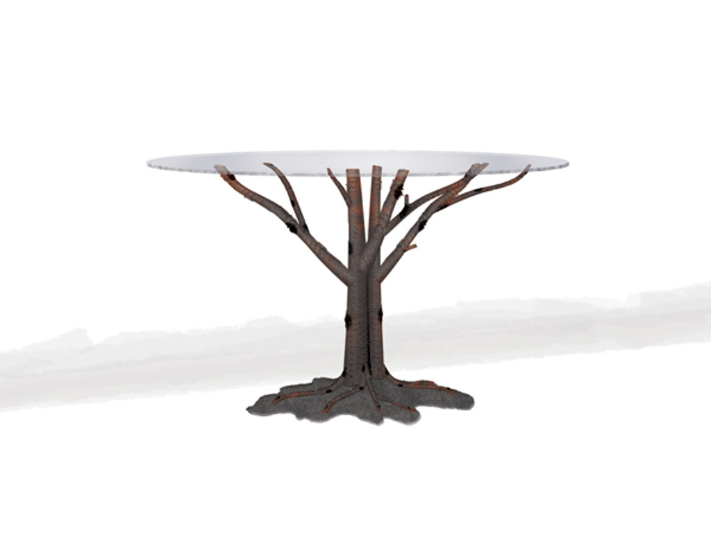 Custom Aspen Card Table