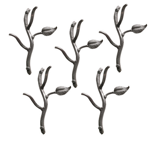 Sassafras Hooks Double- 5 Piece Set