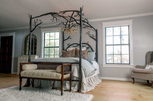 Enchanted Forest Canopy Bed