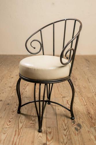 Bella Iron Arm Chair