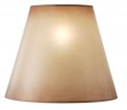 Amber Glow Lampshade (15 x 19 x 8.5)