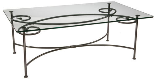 Base Only Leaf Cocktail Table