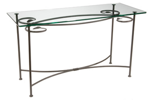 Base Only Leaf Console - Iron Sofa Table