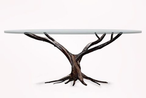 Custom Iron Branch Table
