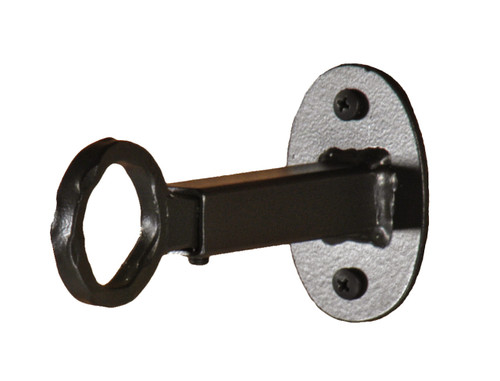 Wrought Iron Curtain Bracket Inside Mount Curtain Rod