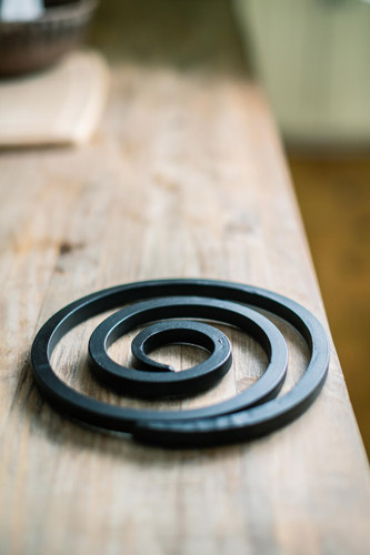 Flame Coiled Trivet