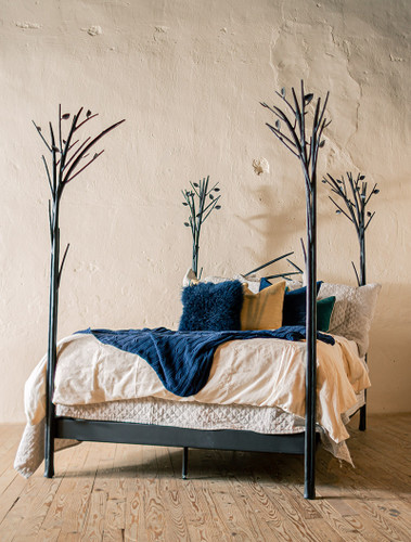 Sapling Forged Iron Bed