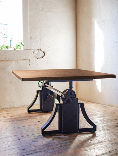 Rivet Adjustable Dining Table