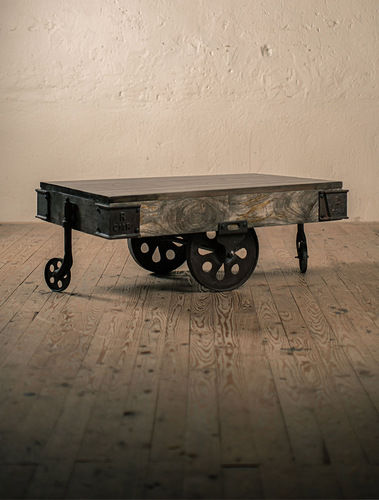 Supply House Vintage Caster Cart