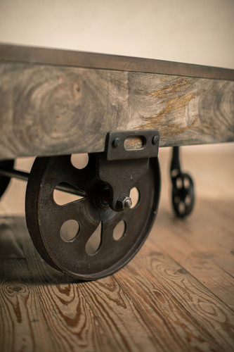 Supply House Vintage Caster Cart