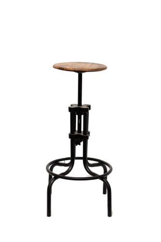Industry Adjustable Iron Stool