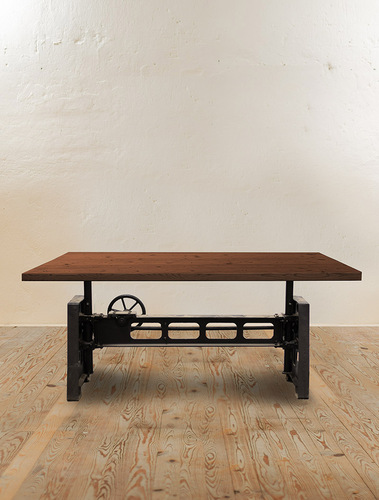 Heavy Mechanic Adjustable Dining Table