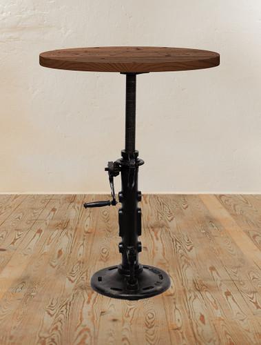 Jack Crank Adjustable Pub Table