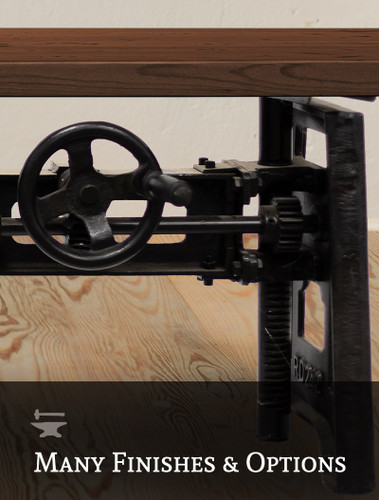 Mechanic Crank Coffee Table
